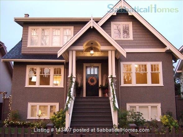 2 bedroom garden suite in Kitsilano, near UBC Home Rental in Vancouver, British Columbia, Canada 4