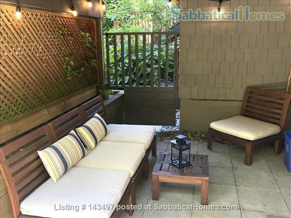 2 bedroom garden suite in Kitsilano, near UBC Home Rental in Vancouver 8