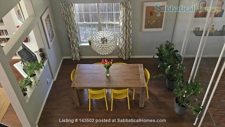 Beautiful 4 bedroom, 2 1/2 bath house with a garden, play structure, furnished  Home Rental in Davis, California, United States 1