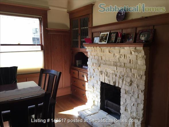 Charming Furnished 2-bedroom, best neighborhood, near campus Home Rental in Oakland, California, United States 8