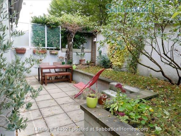Nice 92m2 apt with garden in Lyon Croix Rousse Home Rental in Lyon, Auvergne-Rhône-Alpes, France 0