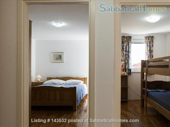 Sea view apartment in an Adriatic Coastal village.  Home Rental in Baška Voda, Splitsko-dalmatinska županija, Croatia 3