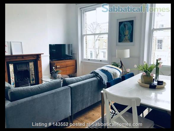 Central London 1200 Sq Foot Maisonette Home Rental in Kentish Town, England, United Kingdom 1