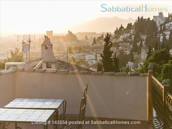 """Montevive"",  wonderful views and 4 bedrooms house next to the Alhambra Home Rental in Granada, AN, Spain 1"