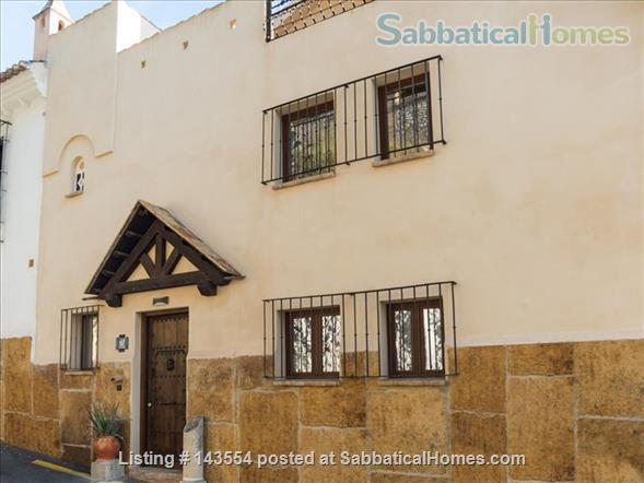 """Montevive"",  wonderful views and 4 bedrooms house next to the Alhambra Home Rental in Granada, AN, Spain 0"