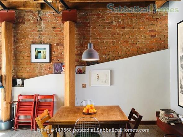 Two-story Townhouse - central, close to scenic canal  Home Rental in Montreal, Quebec, Canada 1