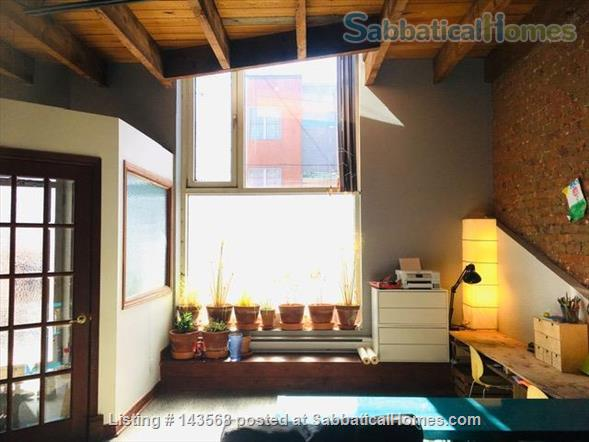 Two-story Townhouse - central, close to scenic canal  Home Rental in Montreal, Quebec, Canada 0
