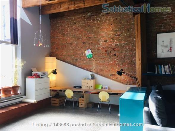 Two-story Townhouse - central, close to scenic canal  Home Rental in Montreal, Quebec, Canada 2
