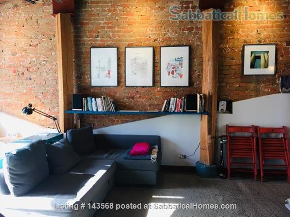 Two-story Townhouse - central, close to scenic canal  Home Rental in Montreal, Quebec, Canada 3