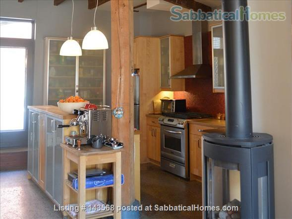 Two-story Townhouse - central, close to scenic canal  Home Rental in Montreal, Quebec, Canada 4