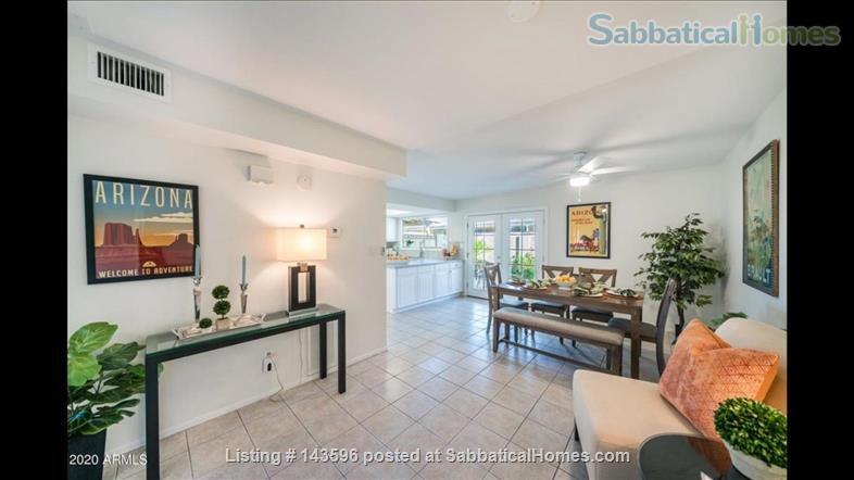 NEWLY RENOVATED townhome (20 min to ASU Tempe) Home Rental in Scottsdale, Arizona, United States 2