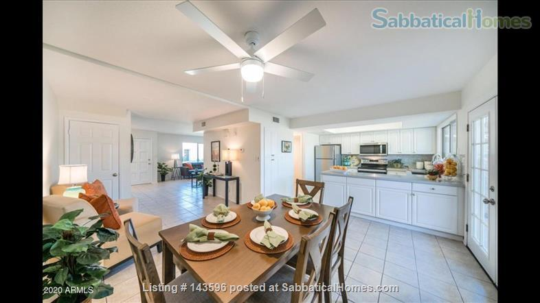 NEWLY RENOVATED townhome (20 min to ASU Tempe) Home Rental in Scottsdale, Arizona, United States 3