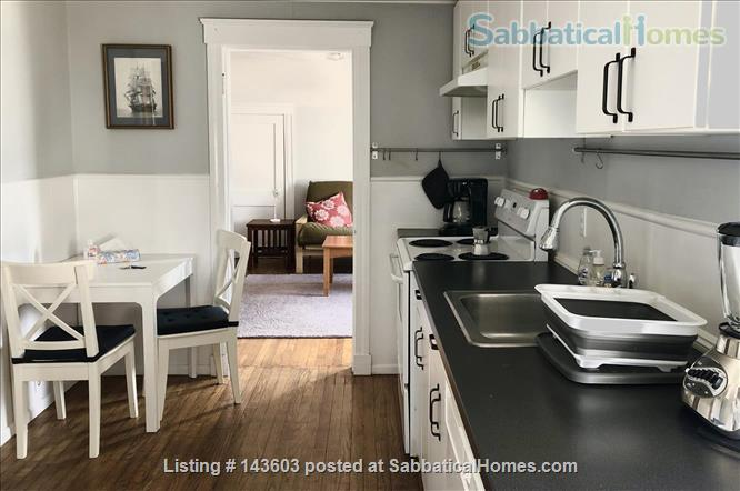 Quiet two bedroom apartment in hip neighborhood with private deck Home Rental in Boston, Massachusetts, United States 1