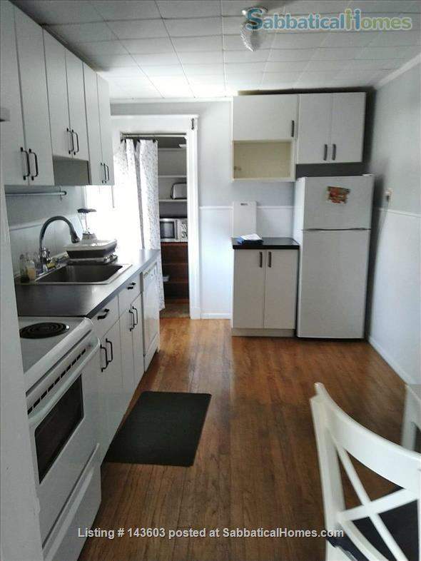 Quiet two bedroom apartment in hip neighborhood with private deck Home Rental in Boston, Massachusetts, United States 0