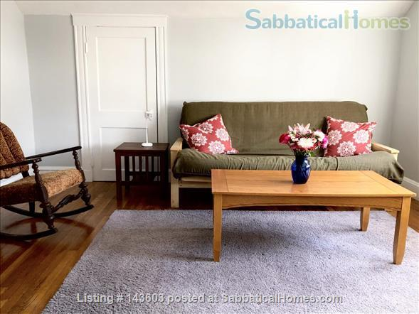 Quiet two bedroom apartment in hip neighborhood with private deck Home Rental in Boston, Massachusetts, United States 2