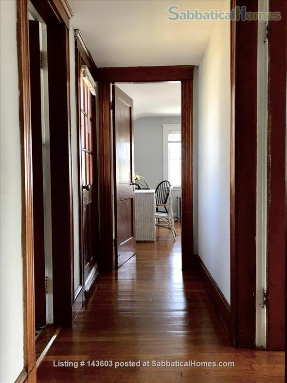 Quiet two bedroom apartment in hip neighborhood with private deck Home Rental in Boston, Massachusetts, United States 3