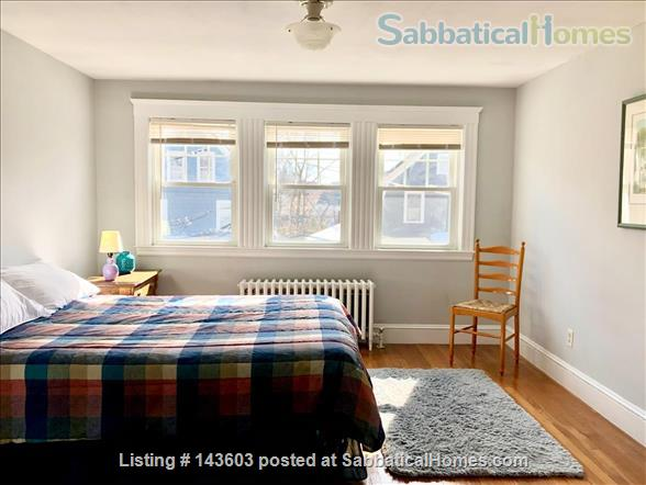 Quiet two bedroom apartment in hip neighborhood with private deck Home Rental in Boston, Massachusetts, United States 5