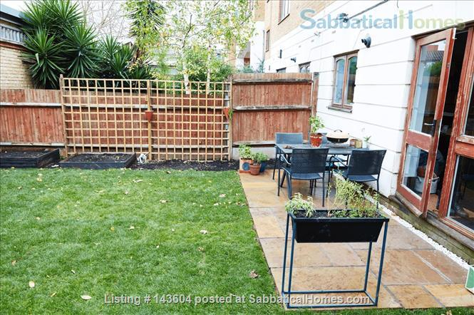Stylish, spacious, large private backyard, east London 1-bd ground floor flat Home Rental in Greater London, England, United Kingdom 9