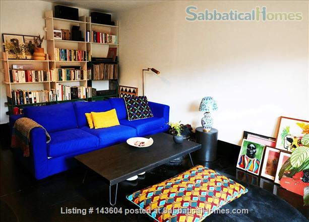 Stylish, spacious, large private backyard, east London 1-bd ground floor flat Home Rental in Greater London, England, United Kingdom 0