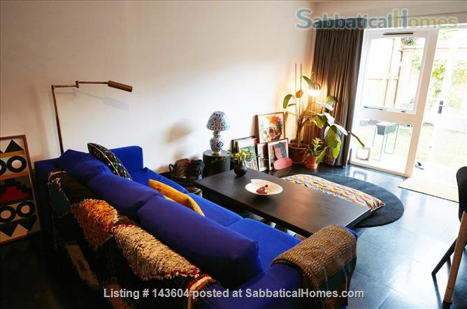 Stylish, spacious, large private backyard, east London 1-bd ground floor flat Home Rental in Greater London, England, United Kingdom 2