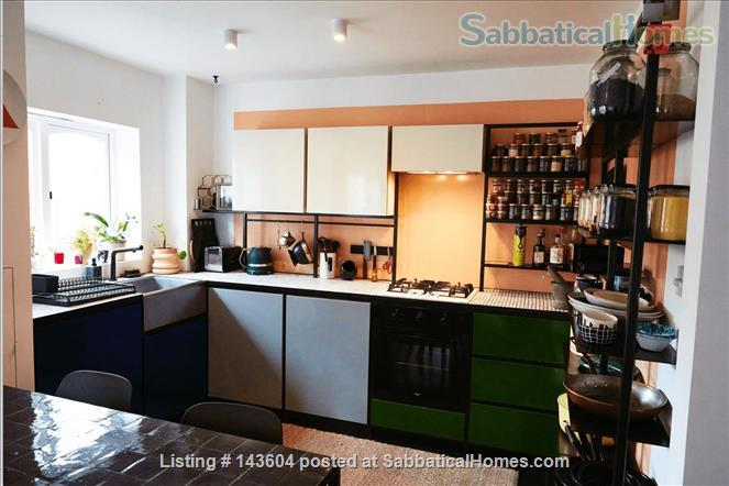 Stylish, spacious, large private backyard, east London 1-bd ground floor flat Home Rental in Greater London, England, United Kingdom 3