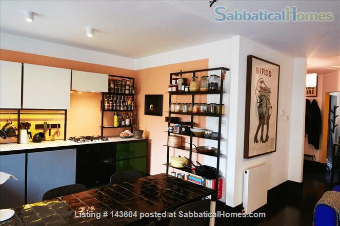 Stylish, spacious, large private backyard, east London 1-bd ground floor flat Home Rental in Greater London, England, United Kingdom 4