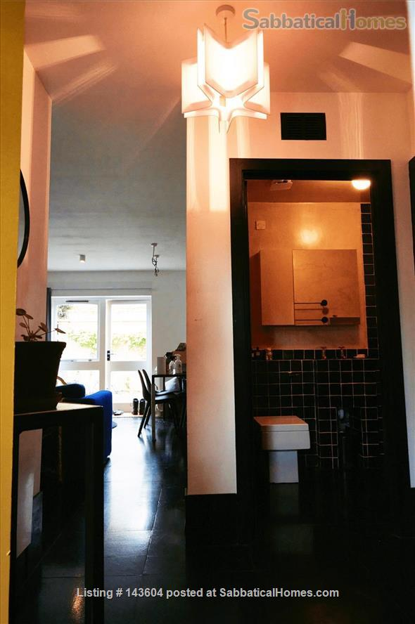 Stylish, spacious, large private backyard, east London 1-bd ground floor flat Home Rental in Greater London, England, United Kingdom 7