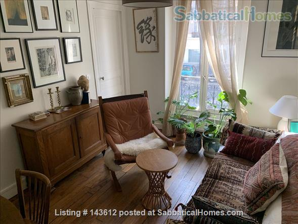 Two bedroom apartment in Paris near Charonne, Nation, Père Lachaise  Home Rental in Paris, IDF, France 1