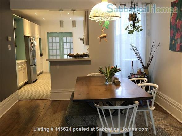 Toronto home for rent summer 2021 in desirable Leslieville.  Home Rental in Toronto, Ontario, Canada 0
