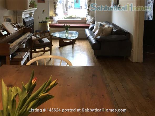 Toronto home for rent summer 2021 in desirable Leslieville.  Home Rental in Toronto, Ontario, Canada 2