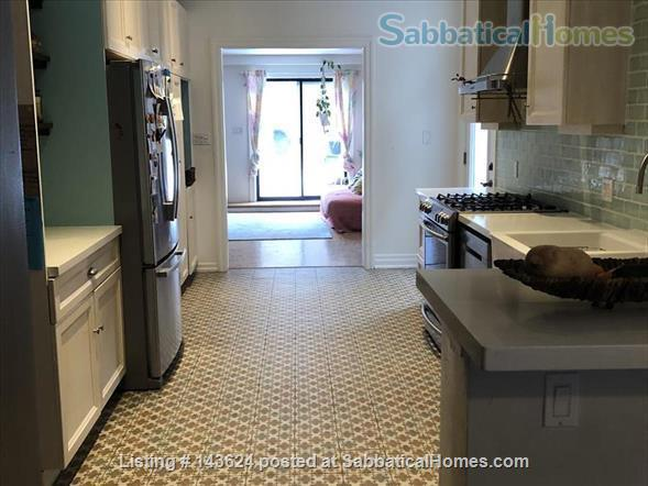 Toronto home for rent summer 2021 in desirable Leslieville.  Home Rental in Toronto, Ontario, Canada 3