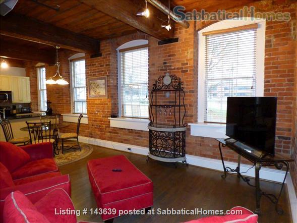 The Loft at the Exchange  Home Rental in Winston-Salem, North Carolina, United States 2