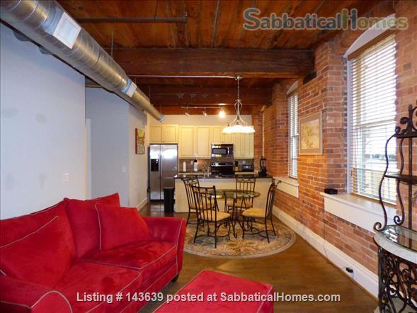 The Loft at the Exchange  Home Rental in Winston-Salem, North Carolina, United States 4