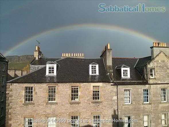 Top floor flat within a distinctive C-Listed building, superbly situated Home Rental in Edinburgh, Scotland, United Kingdom 1