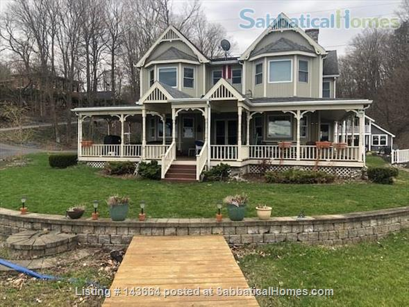 4 Bedroom House on Cayuga Lake, Ithaca, NY Home Rental in Interlaken, New York, United States 1