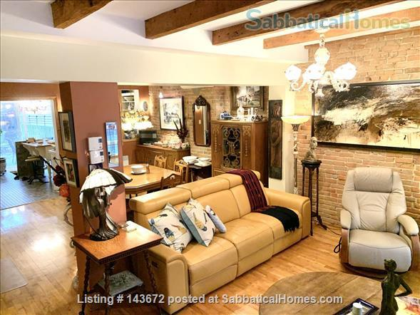 Large appartment in downtown Montreal Home Rental in Montreal, Quebec, Canada 1