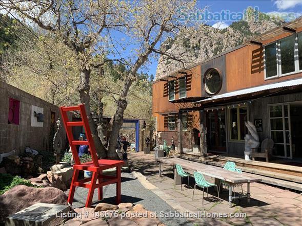 Gorgeous Casita in Art Center at the foot of Eldorado Canyon Home Rental in Eldorado Springs, Colorado, United States 1