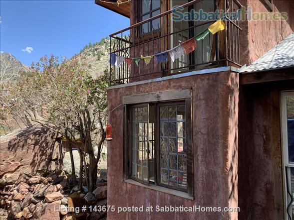 Gorgeous Casita in Art Center at the foot of Eldorado Canyon Home Rental in Eldorado Springs, Colorado, United States 0