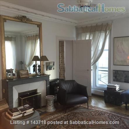 Extra Large Sunny Luxury 1+ bedroom in the heart of the 6th 110sqmt Home Rental in Paris, IDF, France 4