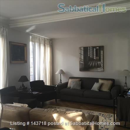 Extra Large Sunny Luxury 1+ bedroom in the heart of the 6th 110sqmt Home Rental in Paris, IDF, France 7
