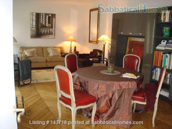 Extra Large Sunny Luxury 1+ bedroom in the heart of the 6th 110sqmt Home Rental in Paris, IDF, France 8
