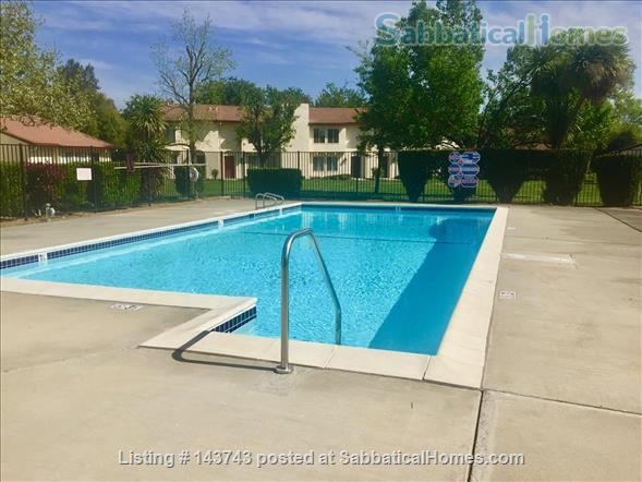 Delightful 2-bedroom home with pool  Home Rental in Davis, California, United States 6