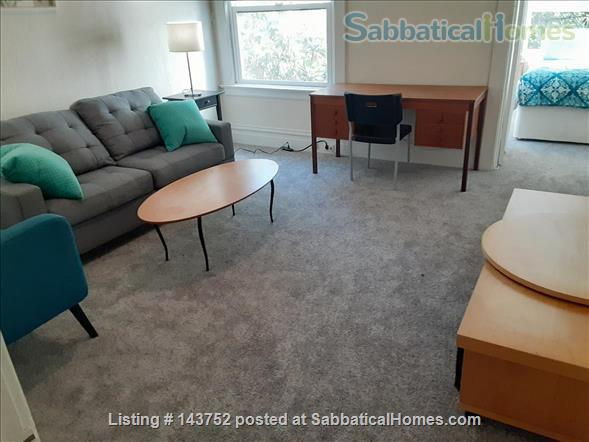 Furnished Den/Office plus Bedroom in spacious  flat across from GG Park Home Rental in San Francisco, California, United States 1