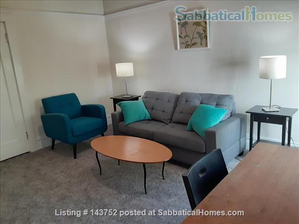 Furnished Den/Office plus Bedroom in spacious  flat across from GG Park Home Rental in San Francisco, California, United States 0