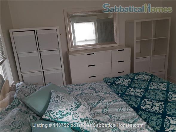 Furnished Den/Office plus Bedroom in spacious  flat across from GG Park Home Rental in San Francisco, California, United States 3