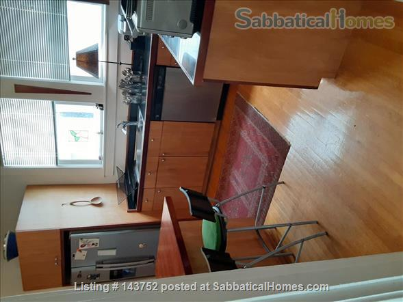 Furnished Den/Office plus Bedroom in spacious  flat across from GG Park Home Rental in San Francisco, California, United States 4