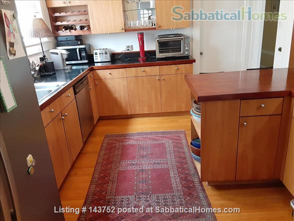 Furnished Den/Office plus Bedroom in spacious  flat across from GG Park Home Rental in San Francisco, California, United States 5