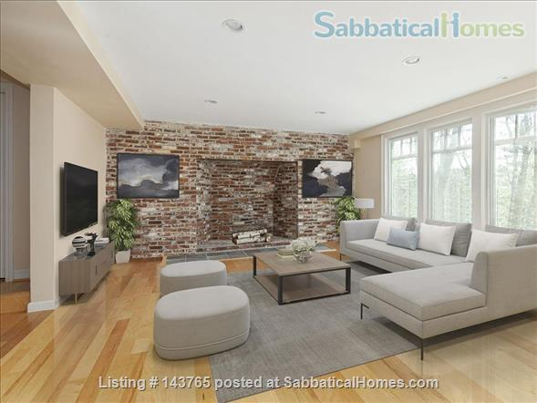 Tranquility and convenience in a coveted neighborhood in the Boston area Home Rental in Weston, Massachusetts, United States 1