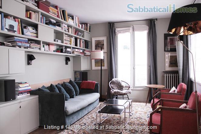 Elegant 100 sqm 3 bedrooms apartment in Bastille trendy neighborhood  Home Rental in Paris, IDF, France 2