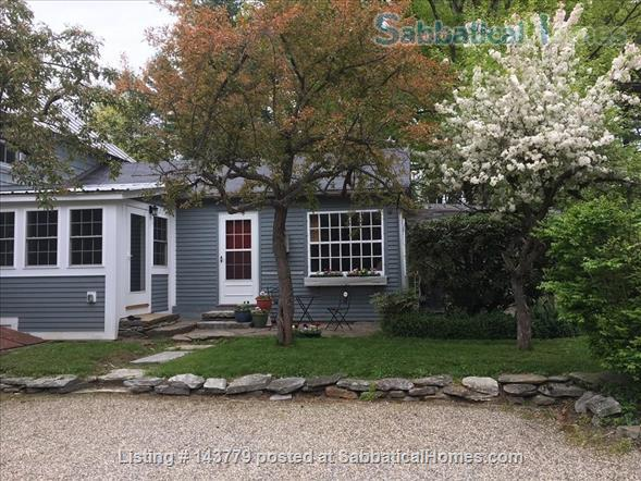 Lovely home in a lovely rural setting - 15 minutes from Amherst Home Rental in Shutesbury, Massachusetts, United States 1